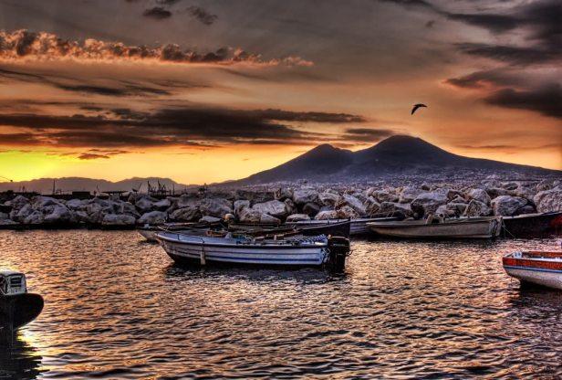 napoli-tramonto